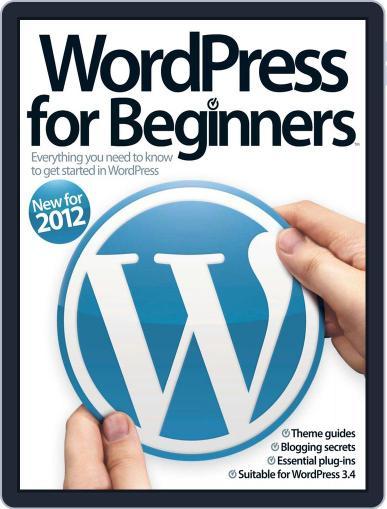 Wordpress For Beginners Magazine (Digital) September 24th, 2012 Issue Cover