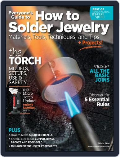 How To Solder Jewelry October 23rd, 2013 Digital Back Issue Cover