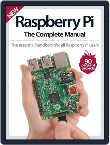 Raspberry Pi The Complete Manual Magazine (Digital) November 5th, 2015 Issue Cover
