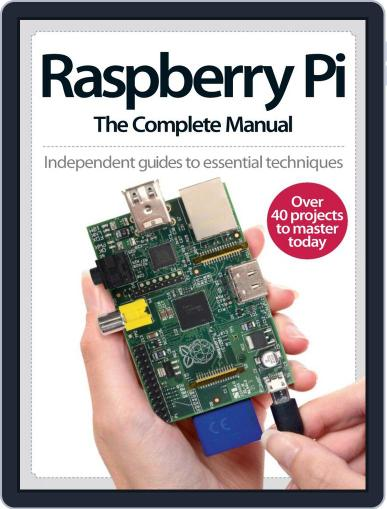 Raspberry Pi The Complete Manual Magazine (Digital) March 26th, 2014 Issue Cover