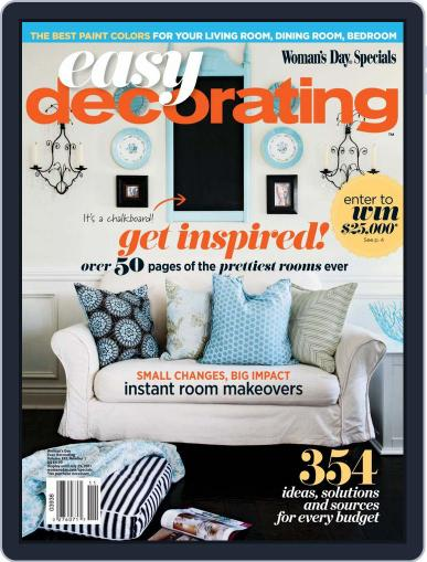 Easy Decorating Ideas Magazine (Digital) April 1st, 2011 Issue Cover