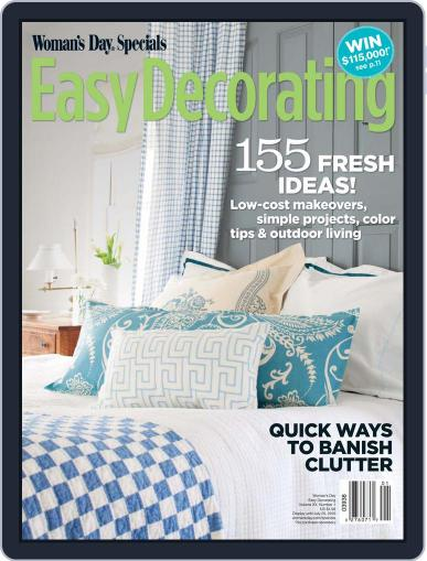 Easy Decorating Ideas Magazine (Digital) April 20th, 2010 Issue Cover