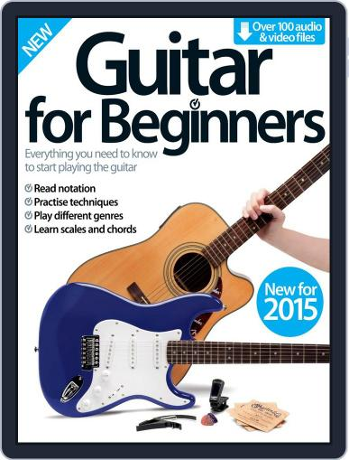 Guitar For Beginners Magazine (Digital) February 25th, 2015 Issue Cover