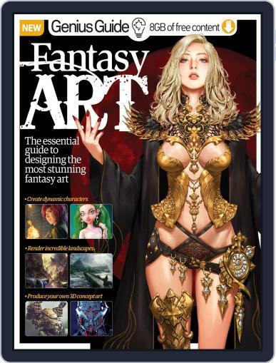 Fantasy Art Genius Guide Magazine (Digital) March 1st, 2016 Issue Cover
