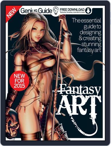 Fantasy Art Genius Guide Magazine (Digital) February 25th, 2015 Issue Cover