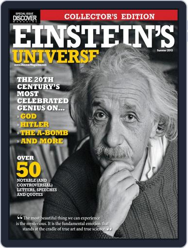 Einstein's Universe (Digital) May 10th, 2013 Issue Cover