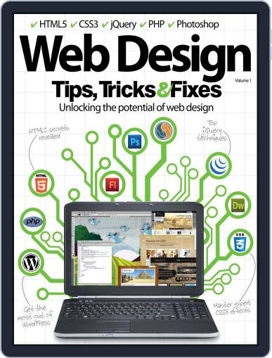 Web Design Tips, Tricks & Fixes Magazine (Digital) September 24th, 2012 Issue Cover
