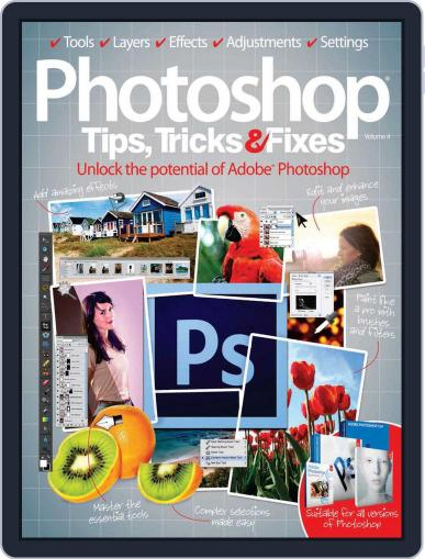 Photoshop Tips, Tricks & Fixes Magazine (Digital) January 30th, 2013 Issue Cover