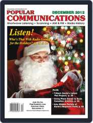 Popular Communications (Digital) Subscription December 1st, 2012 Issue