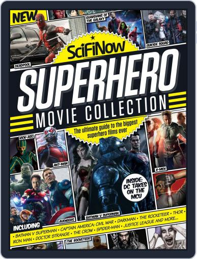 SciFiNow Superhero Movie Collection Magazine (Digital) December 16th, 2015 Issue Cover