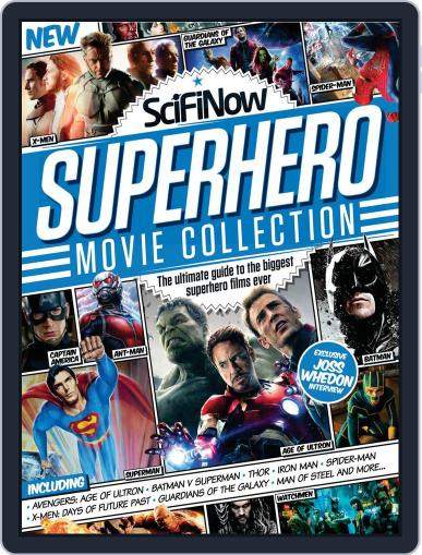 SciFiNow Superhero Movie Collection Magazine (Digital) March 25th, 2015 Issue Cover