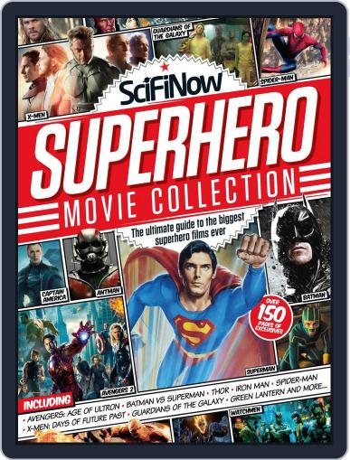 SciFiNow Superhero Movie Collection Magazine (Digital) May 14th, 2014 Issue Cover