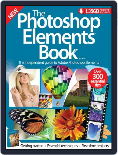 The Photoshop Elements Book February 25th, 2015 Digital Back Issue Cover