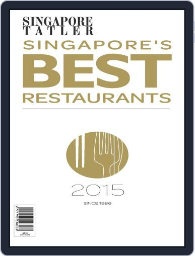 Singapore Tatler Singapore's Best Restaurants Magazine (Digital) January 5th, 2015 Issue Cover