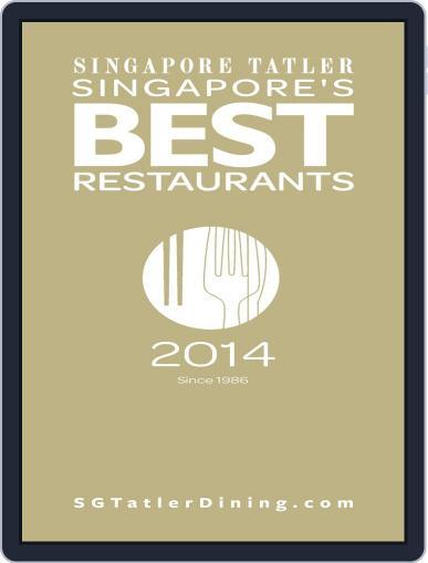 Singapore Tatler Singapore's Best Restaurants Magazine (Digital) January 3rd, 2014 Issue Cover