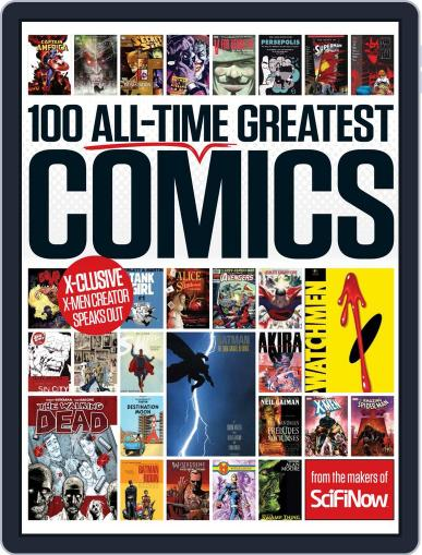 100 All-Time Greatest Comics June 17th, 2015 Digital Back Issue Cover