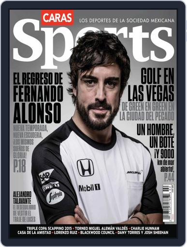Caras Sports March 18th, 2015 Digital Back Issue Cover