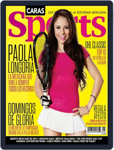 Caras Sports November 10th, 2014 Digital Back Issue Cover