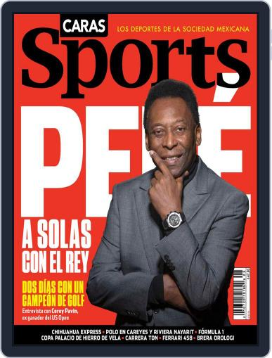 Caras Sports June 6th, 2014 Digital Back Issue Cover