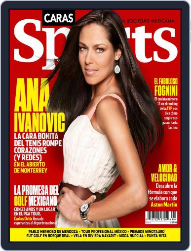 Caras Sports May 7th, 2014 Digital Back Issue Cover