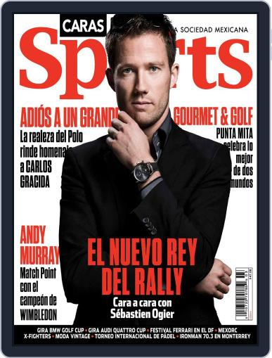 Caras Sports April 15th, 2014 Digital Back Issue Cover