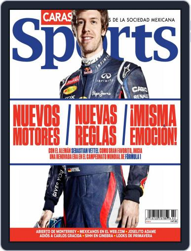 Caras Sports March 6th, 2014 Digital Back Issue Cover