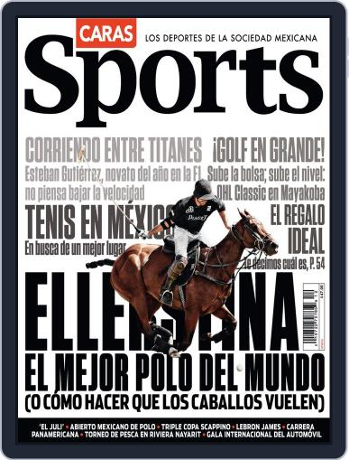 Caras Sports December 13th, 2013 Digital Back Issue Cover