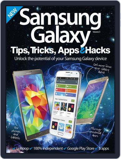 Samsung Galaxy Tips, Tricks, Apps & Hacks January 21st, 2015 Digital Back Issue Cover