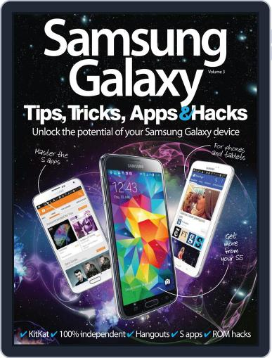 Samsung Galaxy Tips, Tricks, Apps & Hacks July 9th, 2014 Digital Back Issue Cover