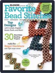 Favorite Bead Stitches Magazine (Digital) Subscription April 5th, 2016 Issue