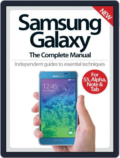 Samsung Galaxy: The Complete Manual Magazine (Digital) September 3rd, 2014 Issue Cover