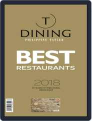 Philippines' Best Restaurants Magazine (Digital) Subscription January 4th, 2018 Issue