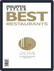 Philippines' Best Restaurants Magazine (Digital) Subscription August 29th, 2014 Issue