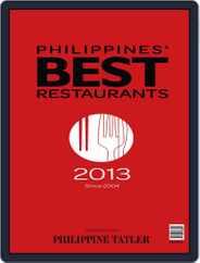 Philippines' Best Restaurants Magazine (Digital) Subscription July 25th, 2013 Issue