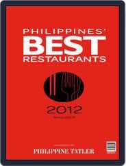 Philippines' Best Restaurants Magazine (Digital) Subscription July 31st, 2012 Issue