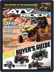 Atv Rider (Digital) Subscription December 24th, 2012 Issue