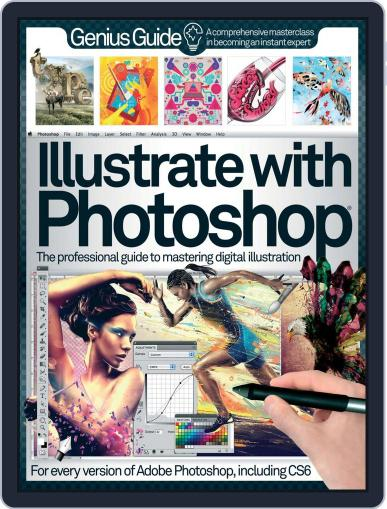 Illustrate with Photoshop Genius Guide Magazine (Digital) October 1st, 2012 Issue Cover