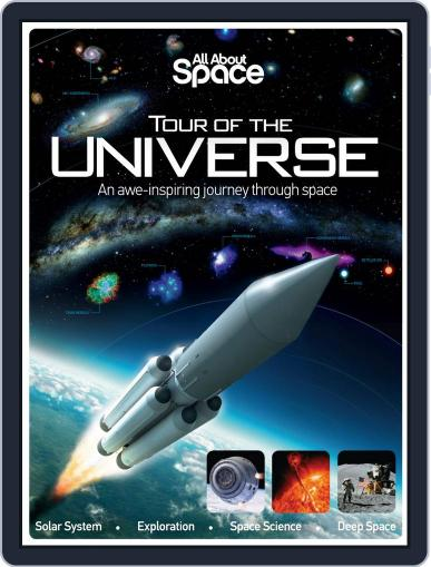 All About Space Tour of the Universe Magazine (Digital) May 7th, 2014 Issue Cover