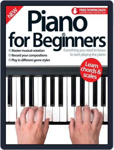 Piano For Beginners March 1st, 2016 Digital Back Issue Cover