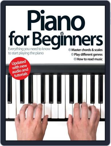 Piano For Beginners August 13th, 2014 Digital Back Issue Cover