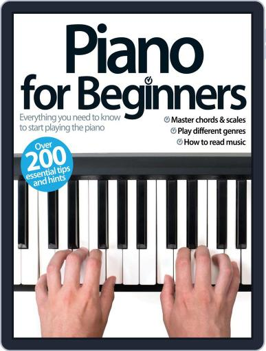 Piano For Beginners August 21st, 2013 Digital Back Issue Cover