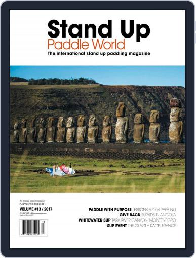 Stand Up Paddle World June 30th, 2017 Digital Back Issue Cover