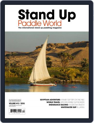 Stand Up Paddle World July 1st, 2016 Digital Back Issue Cover