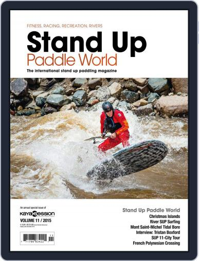 Stand Up Paddle World June 29th, 2015 Digital Back Issue Cover