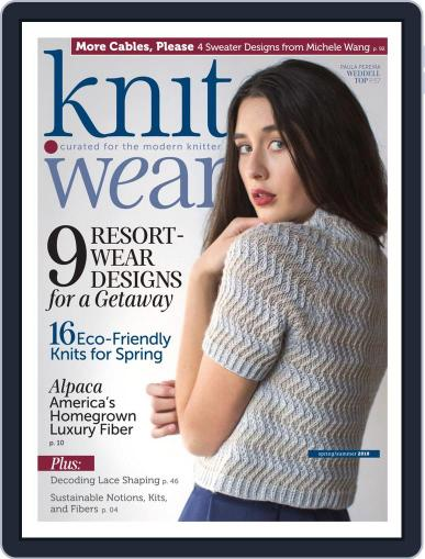 knit.purl Magazine (Digital) March 8th, 2018 Issue Cover