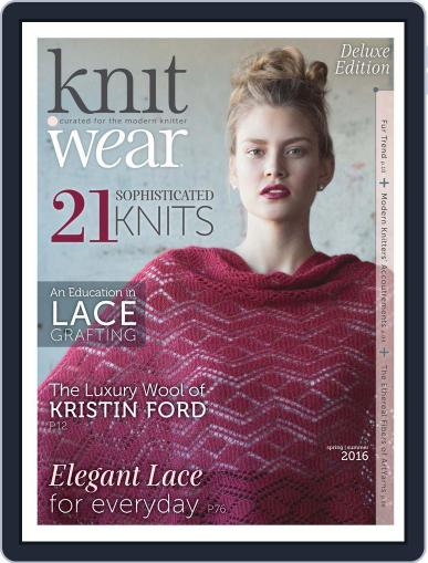 knit.purl Magazine (Digital) March 1st, 2016 Issue Cover