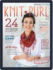 knit.purl Magazine (Digital) Subscription August 1st, 2015 Issue