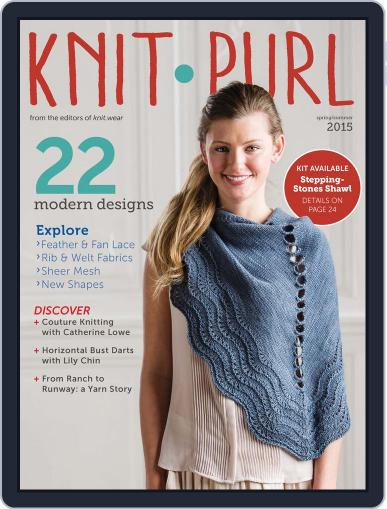 knit.purl Magazine (Digital) April 8th, 2015 Issue Cover