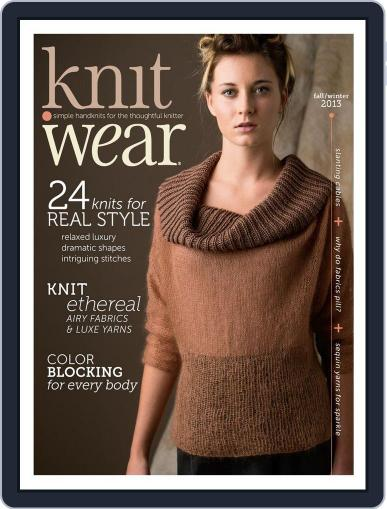 knit.purl Magazine (Digital) October 2nd, 2013 Issue Cover