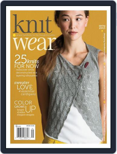 knit.purl Magazine (Digital) April 3rd, 2013 Issue Cover